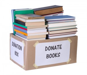 Book Drive Donation Box