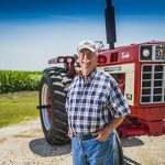 Farmer doesn't let heart attack slow him down