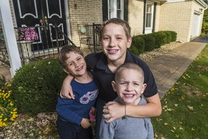 three of the Marcinak children are affected by eosinophilic esophagitis