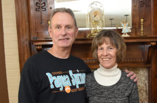 heart disease patient Reed Schreck and his wife