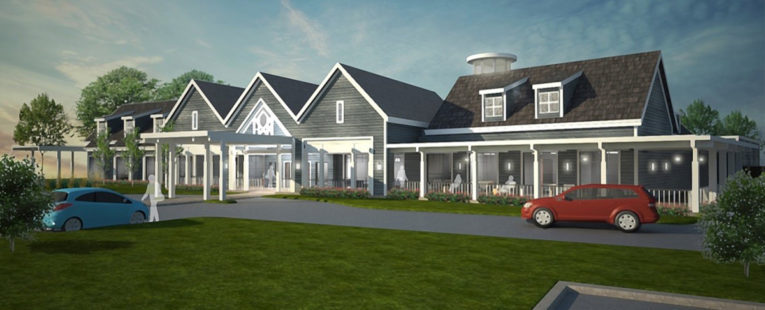 rendering of the Almost Home Kids facility in Peoria