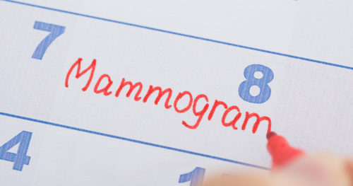 Mammograms don't hurt and just might save your life