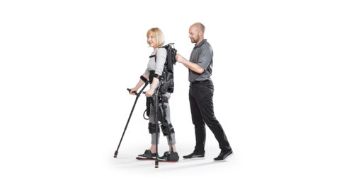 From sci-fi to hospital floor, exoskeletons are helping people walk again
