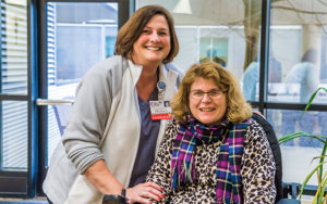 Carrie McCure and Vicky Schwegmann, RN, MSCN