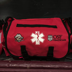 OSF and Ottawa High School medical bag