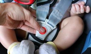 infant car seat strap