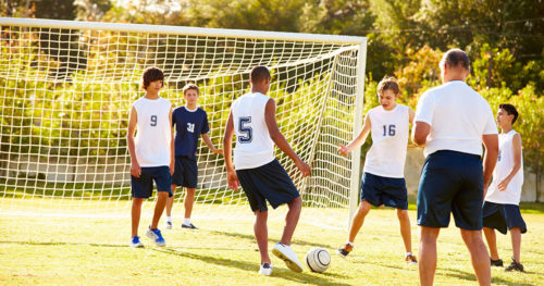 Preventing concussion in young athletes