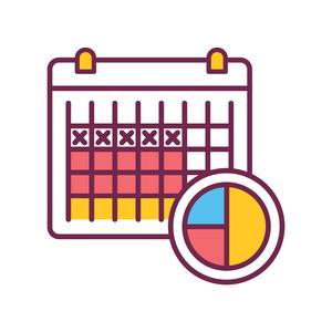 NaPro menstrual cycle calendar