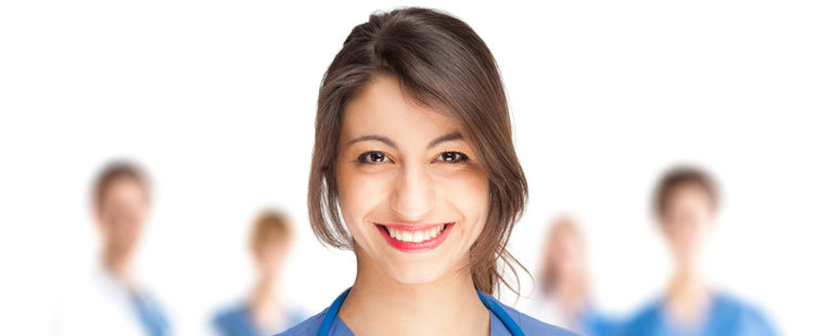 Smiling Hemodialysis nurse
