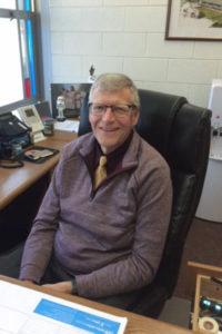 Paul Thompson at work