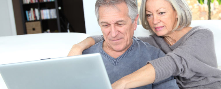 Middle-aged couple exploring options for colorectal cancer screening