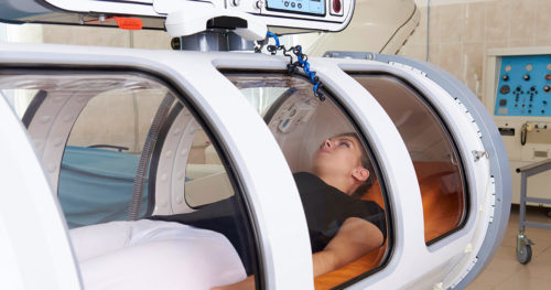 Hyperbaric oxygen therapy: Another option in treating wounds