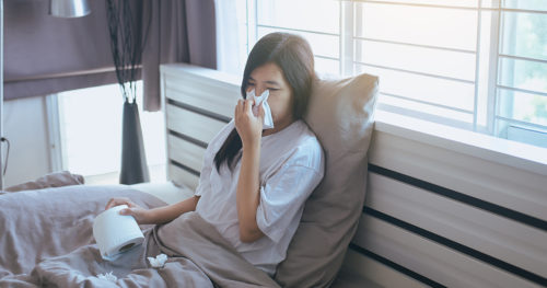 How to keep loved ones safe while you're sick