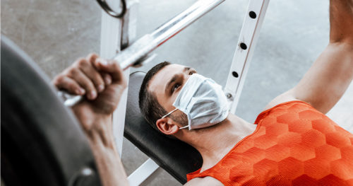 How to adapt your workout while wearing a mask