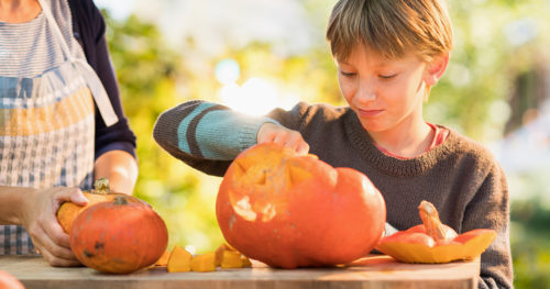 Trick-or-treating risks and safer alternatives