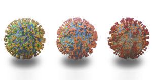 versions of a coronavirus