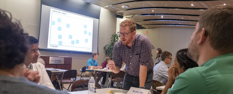 OSF HealthCare Mission Partners engaged in Innovation exercise
