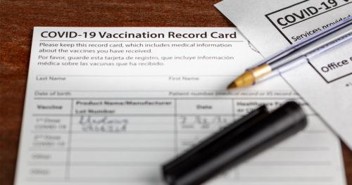 What to do with your COVID-19 vaccination card