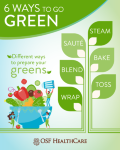 6 Ways to Go Green - Infographic