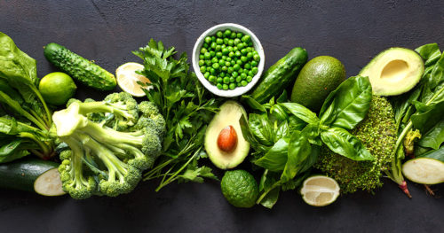 Get in the greens with leafy vegetables