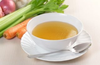 Liquid diet after bariatric surgery