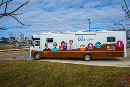 OSF Care-A-Van at the Salvation Army