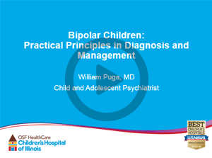 Health Care Professionals | Pediatric Bipolar Disorders