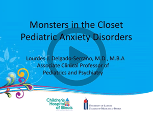 Health Care Professionals | Pediatric Anxiety Disorders