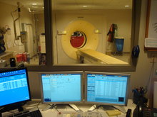 OSF Heart of Mary Imaging Control Room