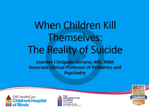 Health Care Professionals | The Reality of Suicide