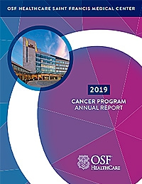 Cancer Annual Report Cover