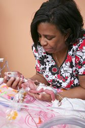 Inpatient Units | Neonatal Intensive Care Unit Baby and Nurse