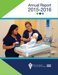 2015-2016 Saint Anthony College of Nursing Annual Report