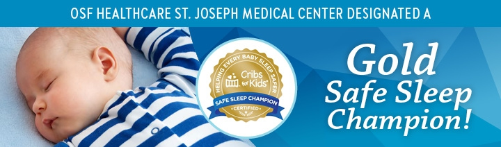 OSF HealthCare St. Joseph Medical Center is a designated Gold Sleep Champion