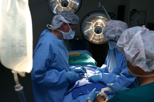 OSF Medical Group surgeons during surgery