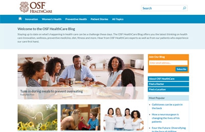 OSF HealthCare blog