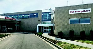PromptCare now located near the emergency department at OSF HealthCare Saint Anthony Medical Center