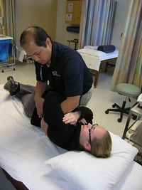 Physical Therapist with Female Patient