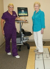 Balance Therapy Patient