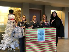 OSF HealthCare Saint Luke Medical Center Share the Warmth Drive