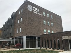 Two year project will replace the bricks and windows outside of OSF HealthCare St. Mary Medical Center