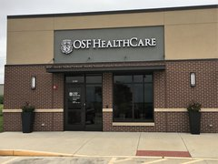 Photo of the new OSF Home Care Services office.