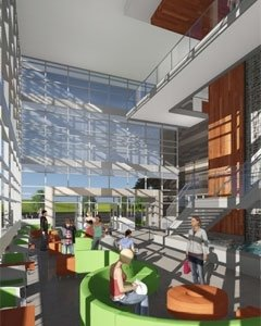 Rock Valley Health Sciences Center - Interior