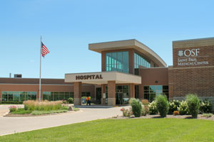 OSF Saint Paul Medical Center, 1401 E. 12th Street, Mendota, Illinois, 61342