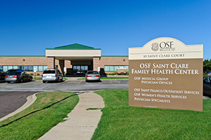 OSF Medical Group - Washington, 10 Saint Clare Court, Suite 100, Washington, Illinois, 61571