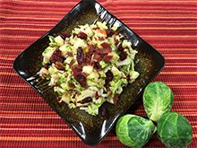 Autumn Brussels Sprouts Salad