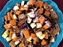 Harvest Roasted Sweet Potatoes