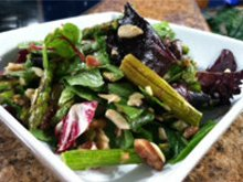 Middle Eastern Asparagus Salad
