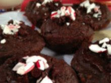 Peppermint Brownie Cakes