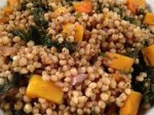 Sorghum Salad with Kale and Butternut Squash